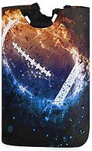 N\A Laundry Hamper, Galaxy Space American Football