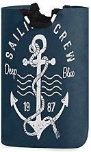 N\A Laundry Hamper, Ocean Sea Anchor Nautical