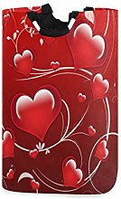 N\A Laundry Hamper, Valentine's Day Red Heart