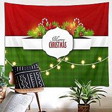 N\A Merry Christmas Shower Curtain Green Pine