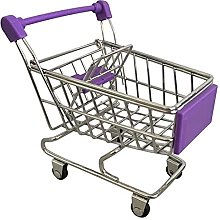 N\A Mini Shopping Cart Snack French Fries Basket