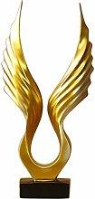 N\A Modern Abstrac Simple Resin Angel Wings