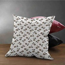 N\A Motorcycle Pillow Case Cover Shams Retro Style