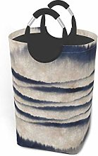 N\A Mountain Ink Painting Laundry Hamper Basket