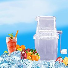 N/A Multifunction Manual Mini Home Transparent Ice