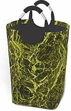 N\A Olive Green Marble Texture Portable
