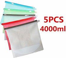N/A Organic Silicone Food Bags, Silicone Storage