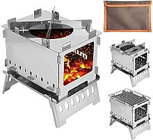 N \ A Outdoor Barbecue Grill, Camping Windproof