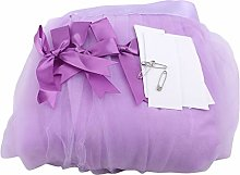#N/A Paizhuo Table Skirt Romantic Tulle Desk Gauze