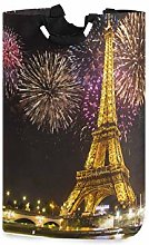 N\A Paris Tower Large Home Organizer Bin, Storage