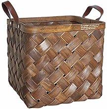 N \ A Picnic Handle Basket Flower Organizer, Woven