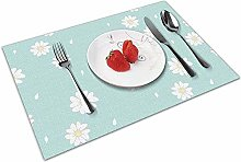 N/A Placemats for Dining Tablemate; Washable
