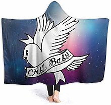 N \ A Premium Bed Blanket,Wearable Wrap