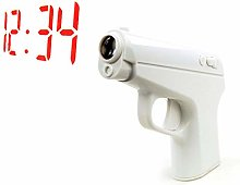 N / A Projection Alarm Clock Small and Light