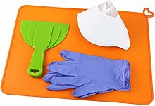 #N/A Silicone Mat 414x310mm Filter Gloves Clean-up