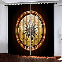 N / A Small Window Curtains, Blackout Window