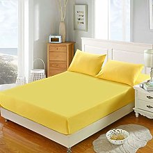 N-A Solid Color Mattress Protector Anti-Mold