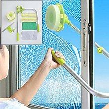 N / A Sponge Head Window Scrubber Telescopic Pole