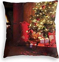 N\A Square Throw Pillow Covers Cushion Case,Xmas