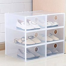 N+A Stackable Transparent Display Cabinet, Plastic