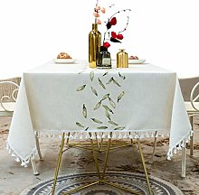 N / A Tablecloth For Party Dinner, Washable