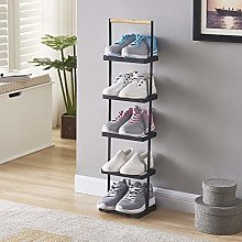 N\A Tall Narrow Shoe Rack, High-end Wrought Iron