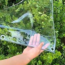 N / A Tarps PVC Waterproof Transparent Tarp,