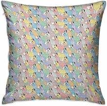 N\A Teen Room Square Body Pillowcase Cute Little