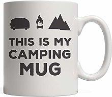 N\A This is my camping mug novelty mug hiking