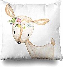 N\A Throw Pillow Covers Floral Bohemian Boho