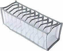 N\A Underwear Storage Compartment Box Foldable