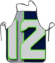 N\A Unisex Seahawks Restaurant Home Kitchen Aprons