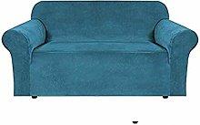 N\A Velvet Plush Sofa Cover,Skid Resistance Sofa