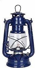 N / A Vintage Storm Lantern Lights Oil Lamp