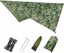 N / A Waterproof Camping Tarpaulin,Cloth Picnic