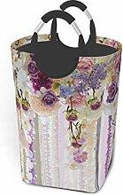 N\A Wedding Arch of Fresh Flowers Laundry Hamper