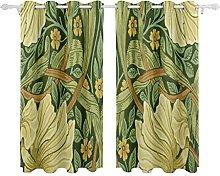 N\A Window Curtain Morris Co Pimpernel Privet
