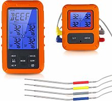 N/A. Wireless Digital Meat Thermometer With Probes