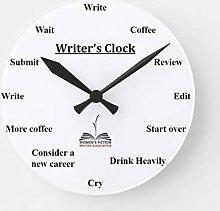 N/ A Writers Clock
