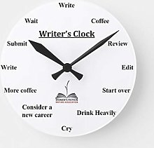 N/ A Writers Clock
