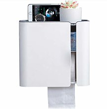 N/A YANGDUO Toilet Paper Holder Tissue Box Wall