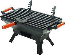 N\A ZGGYA Indoor Outdoor Tabletop Small Charcoal