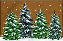 N/AB Christmas Doormat Front Door Decoration