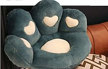 N-B Cat And Bear Paw Plush Seat Cushion, Indoor
