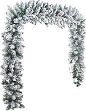 N//B Christmas Garland Decorations, 2.7m White