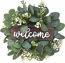 N-B Door Wreaths, Artificial Wreath Leaves Branch