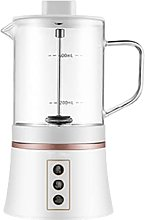 N / B Milk Frother, Electric Milk Steamer With