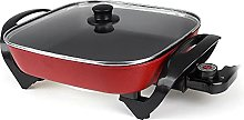 N / B Non-stick Electric Skillet with Glass Vented