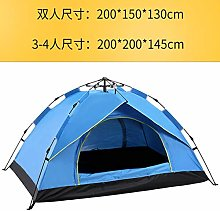 N-B Outdoor Camping Tent 2-3-4 Person Automatic