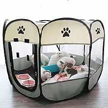 N-B Portable Folding Pet Carrier Tent Playpen